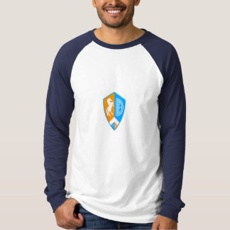 Large German Style Denver Football Euro Logo Tee Shirt