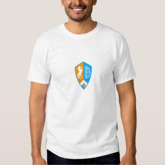 Large German Style Denver Football Logo Tees