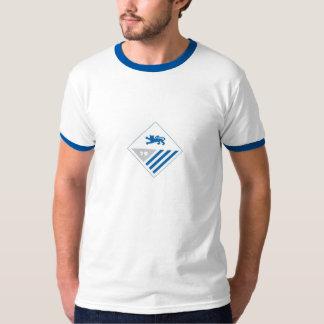 Large German Style Detroit Football Euro logo Tshirt