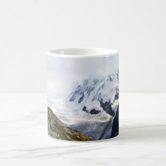 Large glacier in the Swiss alps Coffee Mug