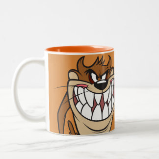 Large Grin TAZ™ Two-Tone Coffee Mug