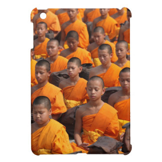 Large Group of Meditating Monks Cover For The iPad Mini