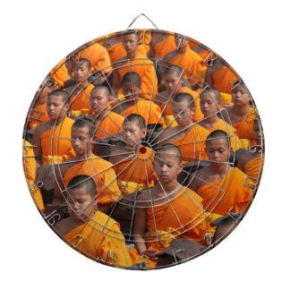 Large Group of Meditating Monks Dartboard