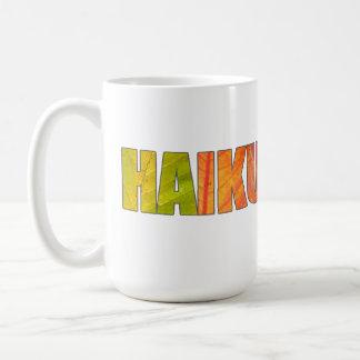 Large HAIKU Novelty Mug
