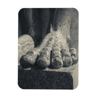 Large Hermitage building, sculpture foot 2 Rectangular Photo Magnet