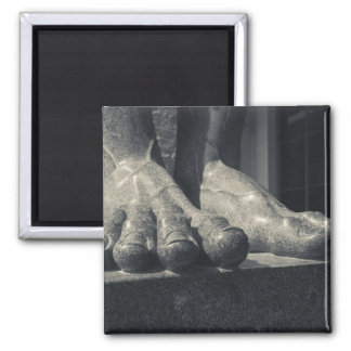 Large Hermitage building, sculpture foot Refrigerator Magnets