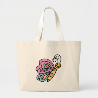 Large Inspired By Butterflies Tote