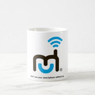 Large Logo and Tagline Mug