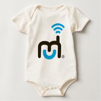 Large Logo Baby Bodysuit
