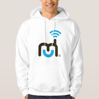 Large Logo Hooded Pullover