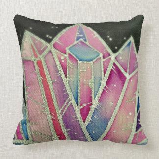Large Magic Rainbow Crystal Cushion