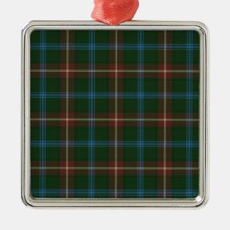 Large Manitoba tartan Metal Ornament