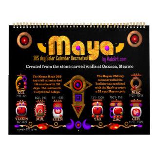 Large Mayan Calendar for 2011