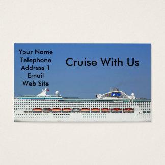 Large Mega Cruise Ship