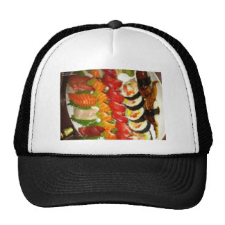 Large Mixed Sushi Plate Gifts Mugs & Collectibles Trucker Hat