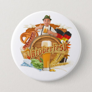 Large Oktoberfest Button