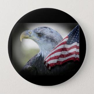 Large Patriotic Eagle Pin
