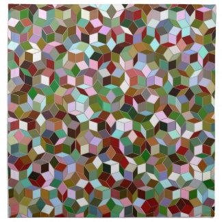 Large Penrose Pattern Cloth Napkins