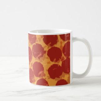 Large Pepperoni Pizza Coffee Mug