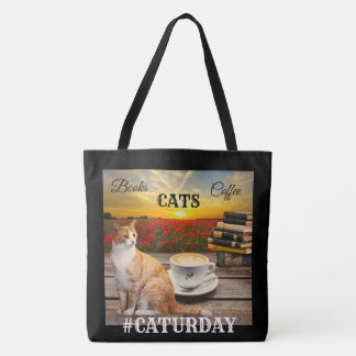 Large Personalised Crazy Cat Lady Tote Bag