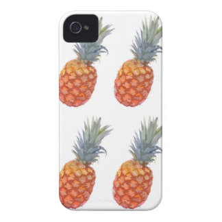 Large Pineapple Print iPhone 4 Case-Mate Case