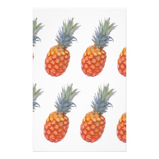 Large Pineapple Print Stationery