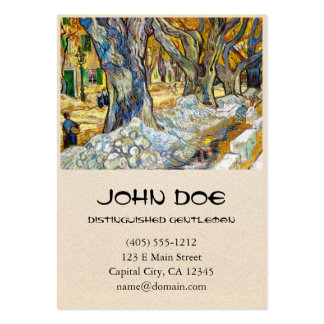 Large Plane Trees by Vincent Van Gogh Pack Of Chubby Business Cards