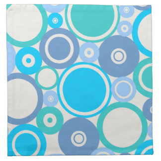Large Polka Dots Beach theme Cloth Napkin
