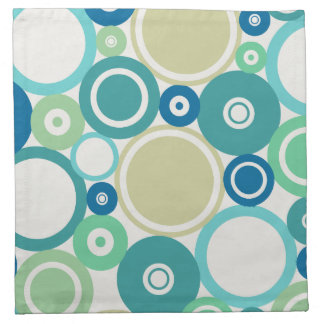 Large Polka Dots Beach theme Cloth Napkin