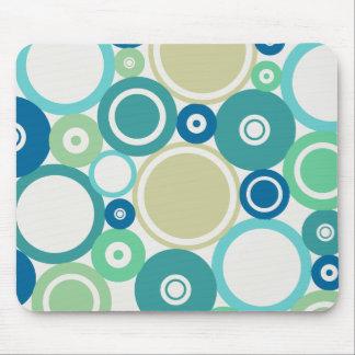 Large Polka Dots Beach theme Mousepad