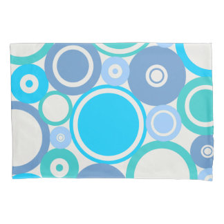 Large Polka Dots Beach theme Pillow Case