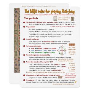 image relating to Mahjong Card Printable titled Mahjong Playing cards Zazzle AU