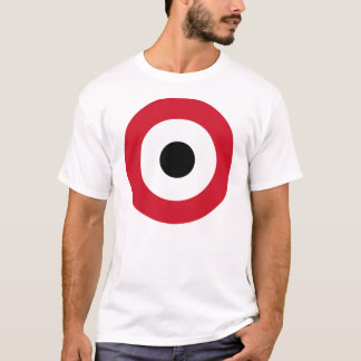 LARGE PRINT Roundel of Egyptian Air Force T-Shirt