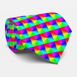 Large Rainbow Pattern Tie