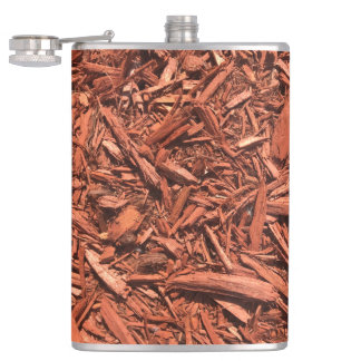 Large Red Cedar Mulch for Landcape Designer Hip Flask