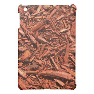 Large Red Cedar Mulch for Landcape Designer iPad Mini Cover