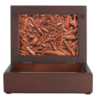 Large Red Cedar Mulch for Landcape Designer Keepsake Box
