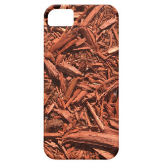 Large red cedar mulch pattern landscape contractor barely there iPhone 5 case