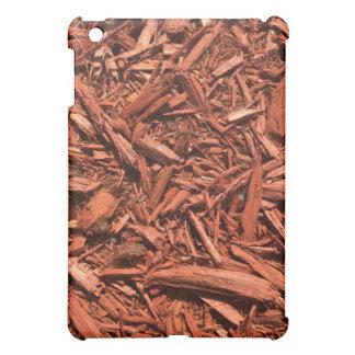 Large red cedar mulch pattern landscape contractor case for the iPad mini