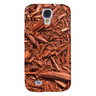 Large red cedar mulch pattern landscape contractor galaxy s4 cases