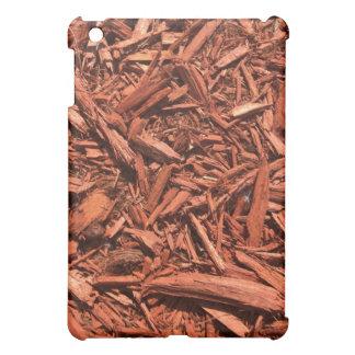 Large red cedar mulch pattern landscape contractor iPad mini cover
