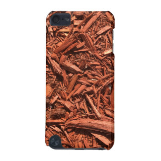Large red cedar mulch pattern landscape contractor iPod touch (5th generation) case