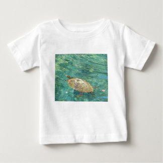 large river turtle swimming baby T-Shirt