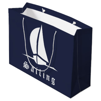 Large Sailing Large Gift Bag