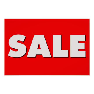 Large Sale Sign