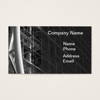 Large Scale Construction Site Business Card