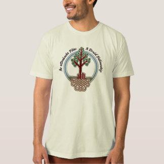 Large script ADF logo T-Shirt