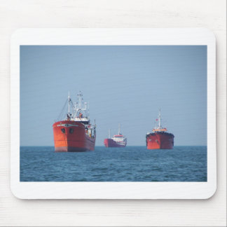 Large Ship Anchorage Mouse Pad