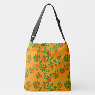 Large-Sized Tote Bag Floral #2