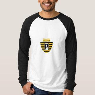 Large Spanish Style Pittsburgh Football Euro Logo Shirts